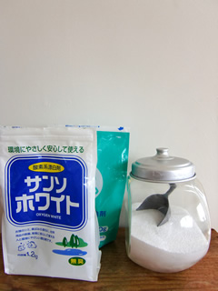 酸素系の漂白剤